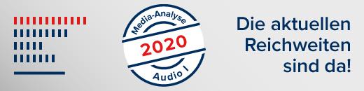 Neue Reichweiten MA2020 AudioI