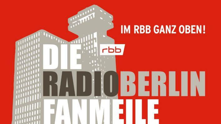 Plakat von radioBERLIN Fanmeile
