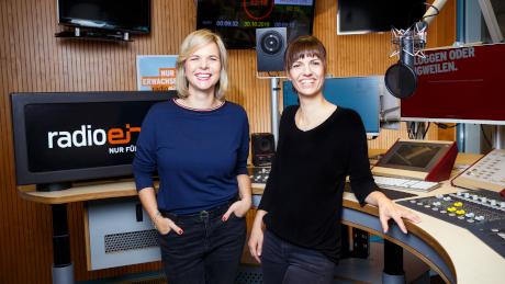 """Julia menger und Kerstin Hermes - Das neue Moderatorinnen-Team für die Morningshow """"Der schöne Morgen"""" auf radioeins"""
